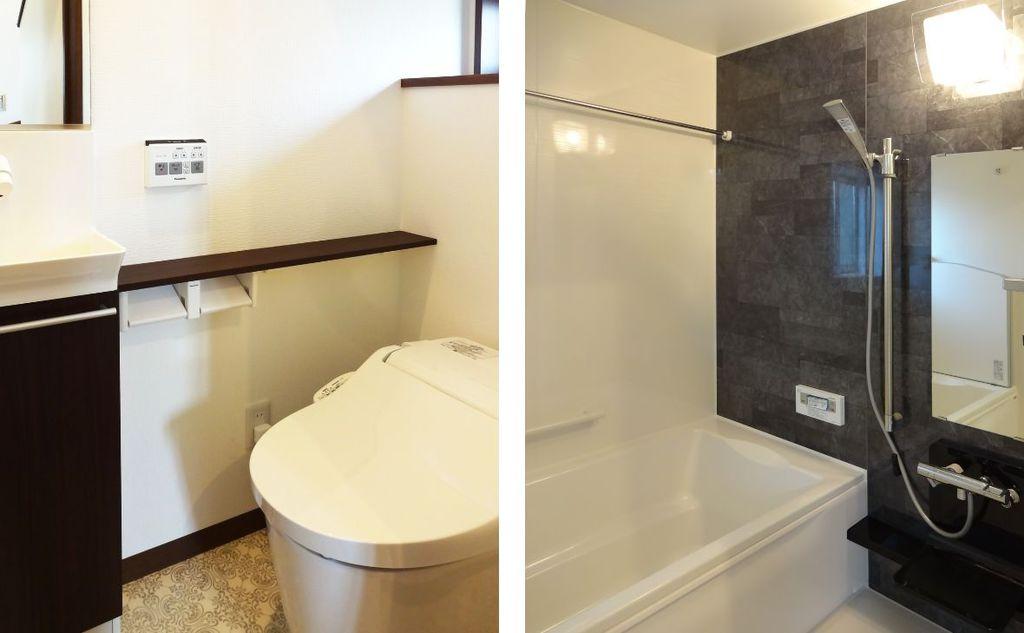 施工事例 トイレ お風呂