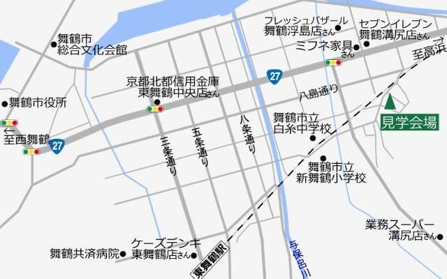 見学会場地図