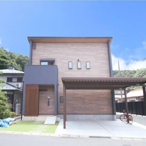 デザイン性と機能性が調和した家